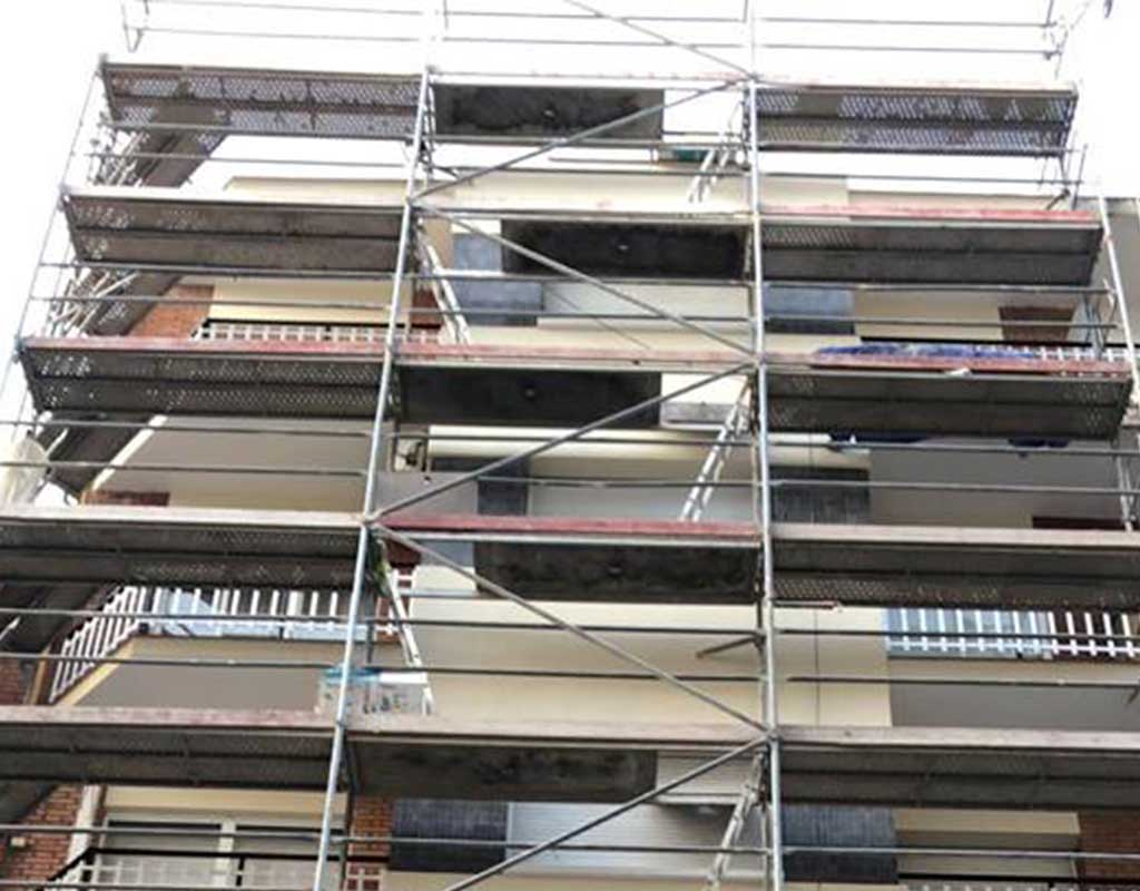 Arreglo de fachadas en Barcelona, reparación de fachadas