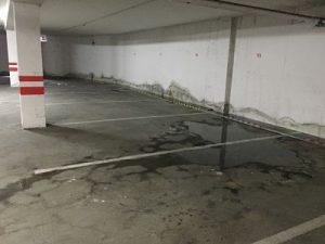 filtraciones parking