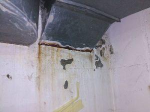 humedades y filtraciones de agua en garages