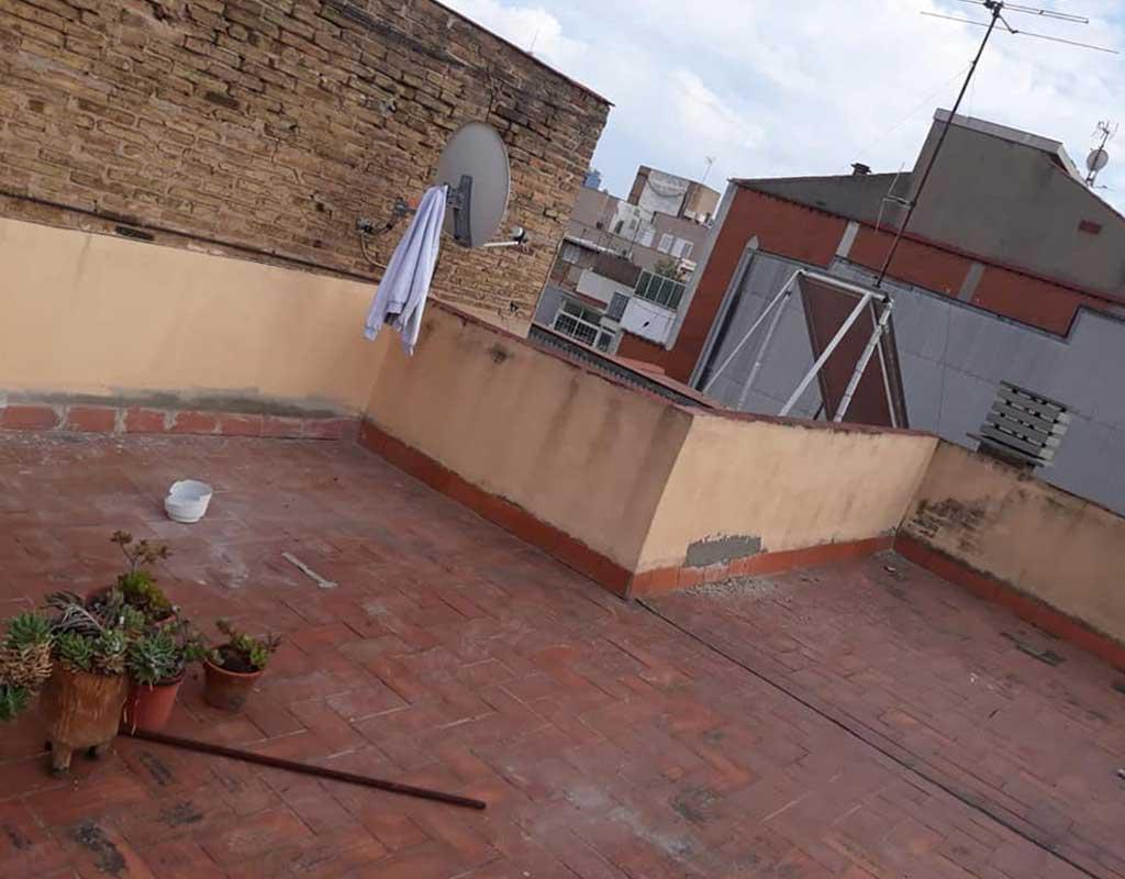 Arreglo de fachadas y cubiertas de edificios