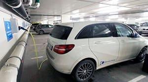 precio punto de recarga coche eléctrico