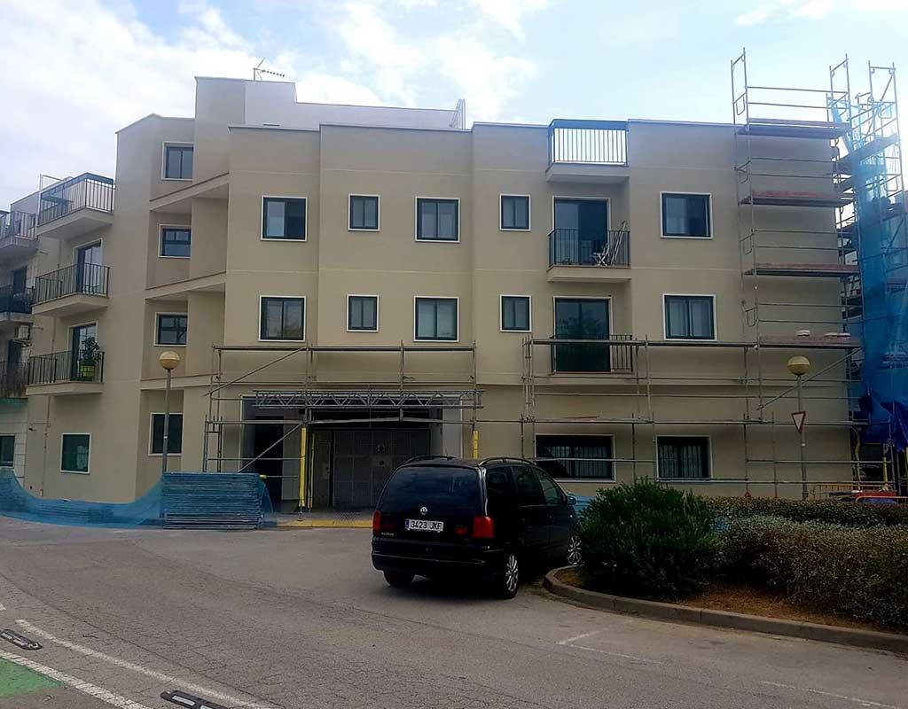 reforma de fachadas de casas