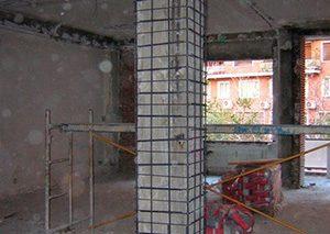 reparación de pilares de hormigón