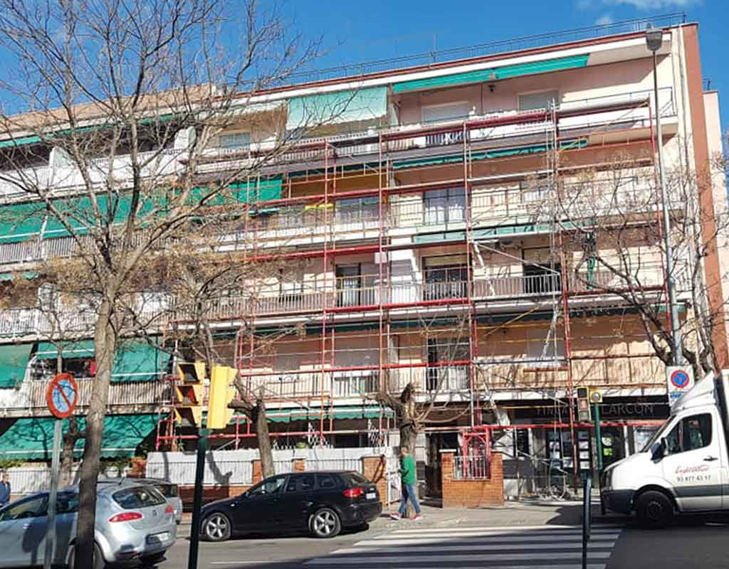 rehabilitacion de edificios Sant boi