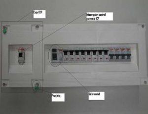 ICP interruptor de control de potencia en edificios