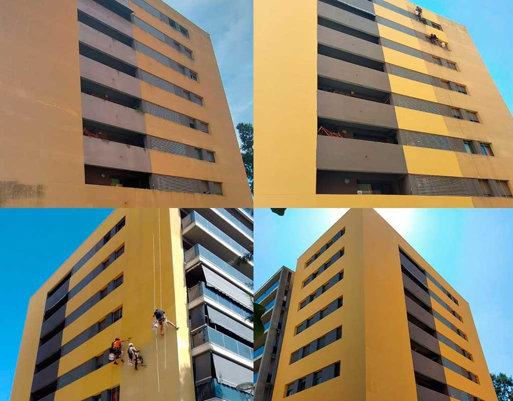 rehabilitacion de edificios Molins de Rei