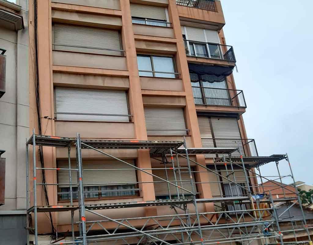 rehabilitacion de fachadas en molins de rei