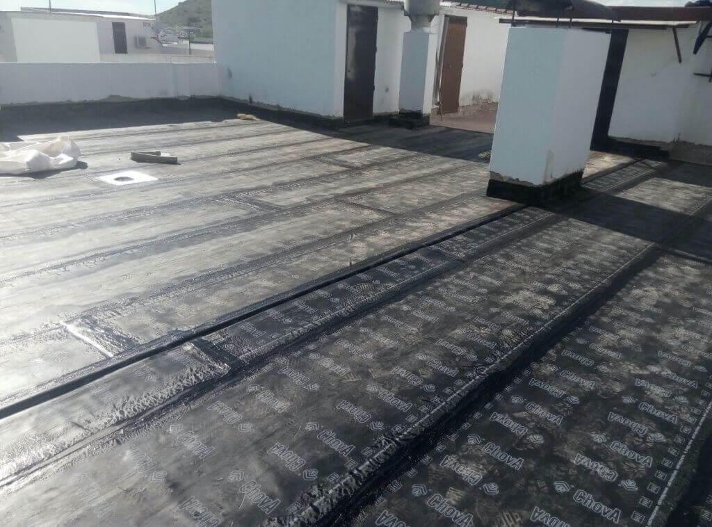 impermeabilizaciones terrados con tela asfáltica