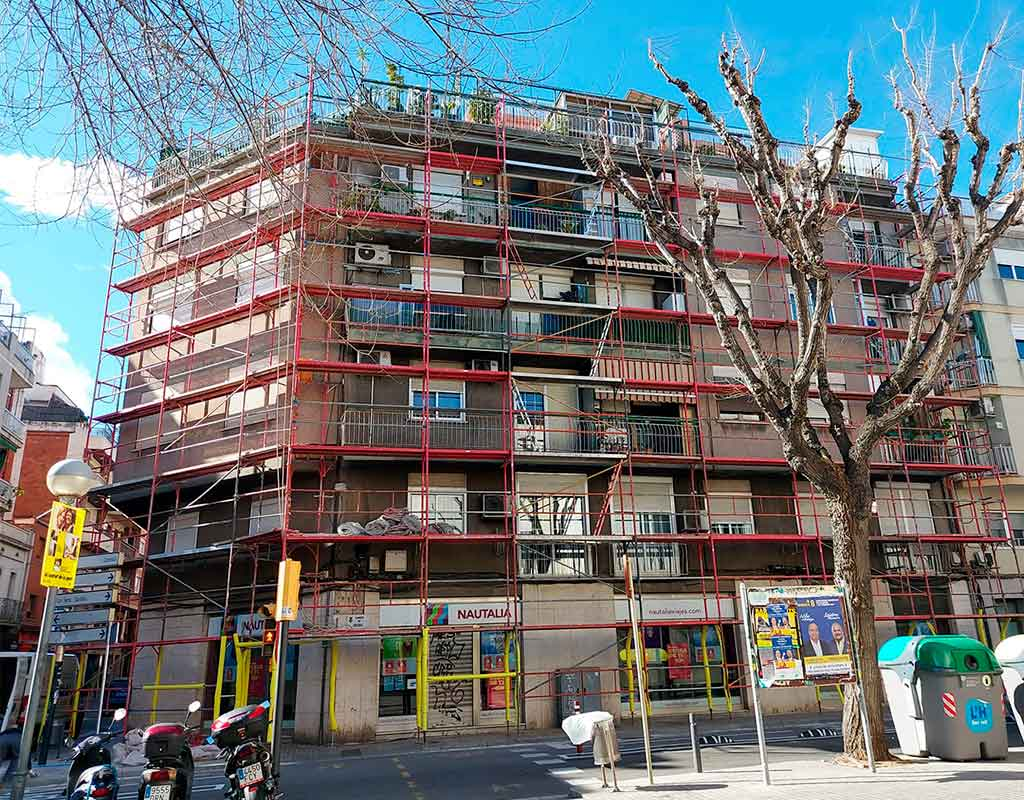 restauracion de fachadas hospitalet