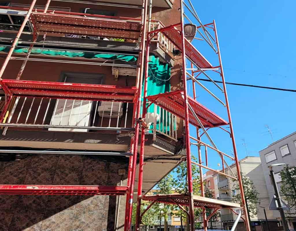 rehabilitacion de fachadas sant joan despi